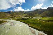 Tibet Mountain Landscape