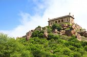 400 year old historic Golkonda fort in Hyderabad, India