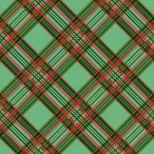 Diagonal Checkered Tartan Fabric Seamless Texture