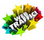 image of maxim  - Web Traffic Stars Increase Online Exposure Views Customers - JPG