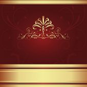 Background-Elegant Maroon For Wedding Or Corporate