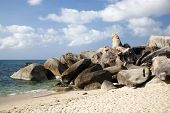 Grandfather rock and Grand mother rock, Lamai beach, Koh Samui
