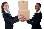 It's Teamwork. Business Concept.