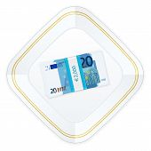 Plate And Twenty Euro Pack