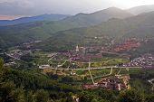 Aerial View Of Taihuai (wutai Shan), China