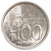 100 Indonesian Rupiah Coin