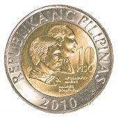 10 Philippine Peso Coin