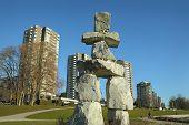 Vancouver Inukshuk
