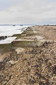 Lepe Beach - Launch Site For WWII Mulberry Harbours.