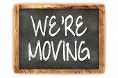 Blackboard We're Moving