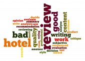 Hotel Review Word Cloud