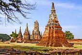 Brick And  Pagoda