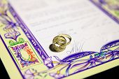 Ketubah - Marriage Contract In Jewish Religious Tradition
