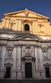 Постер, плакат: «Дитя Иисус» Иезуитской церкви фасада Рим Италия