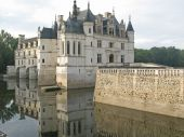 Chenonceaux in The Loire Valley France