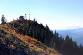 Burley Mountain Fire Lookout near Mount St. Helens