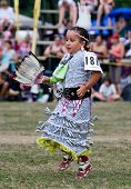 Young Powwow  Jingle Dress Dancer