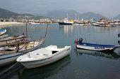 Boats In The Port Of Alanya, Turkey