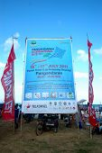 pangandaran international kite festival billboard