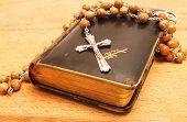 Crucifix And Prayer Book