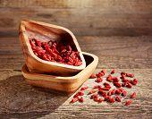 Bowl Of Goji Berries