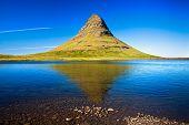 Mountain Kirkjufell, Western Iceland