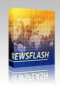 News Splash Screen Box Package