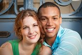 Cute Multiracial Couple