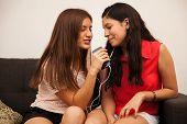 Best Friends Singing Together