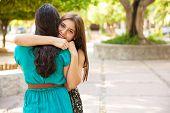 Hugging My Best Friend