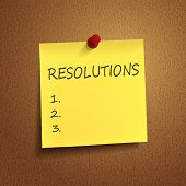 Resolutions Words On  note