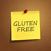 Gluten Free Words On note