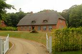 Former German Villa In A Thatched Roof