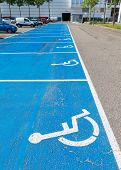 Parking Area For Disabled