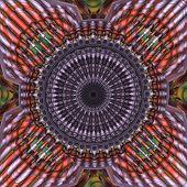 Red Mandala Fractal