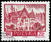 Wroclaw Stamp