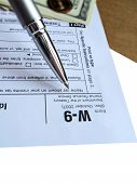 Money Tax For W-9 Revenue Tax Form