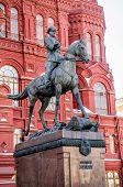Marshal Georgy Konstantinovich Zhukov Statue