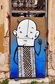 Funny Cartoon Abstract Graffiti