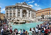 Fountain Di Trevi - Most Famous Rome's Place