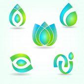 Set of abstract symbols