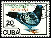 Vintage  Postage Stamp.  Porto 1985.