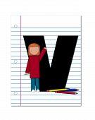 Alphabet Start Of School Two V