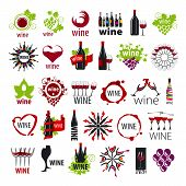 Biggest Collection Of Vector Icons Wine