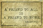 Friend To All Print
