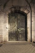 Door Of Sultanahmet Mosque