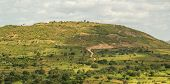 One Of The Mountains Surrounding The City Of Harar