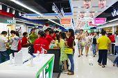 SHENZHEN - NOV 02: shopping store in ShenZhen on November 02, 2014 in Shenzhen, China. ShenZhen is regarded as one of the most successful Special Economic Zones.