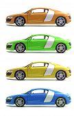 Set Cars Audi R8