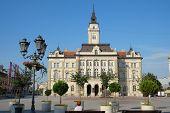 City Hall in main square of Novi Sad, Serbia